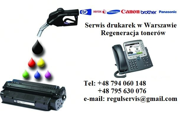 Serwis drukarek w Warszawie
